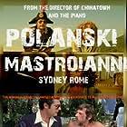 Marcello Mastroianni, Roman Polanski, and Sydne Rome in Che? (1972)