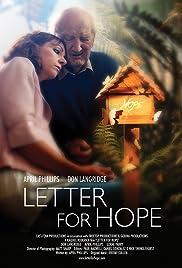 Letter for Hope Poster