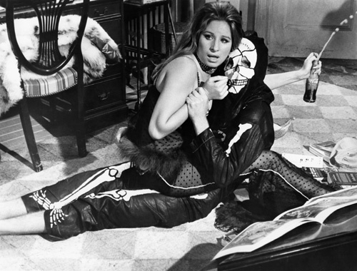 Barbra Streisand and George Segal in The Owl and the Pussycat (1970)