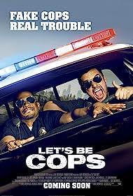 Damon Wayans Jr., Jake Johnson, Nina Dobrev, and Libby Blake in Let's Be Cops (2014)