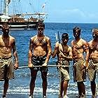 Ryan Phillippe, Balthazar Getty, Jason Marsden, Eric Michael Cole, Ethan Embry, David Lascher, and Scott Wolf in White Squall (1996)