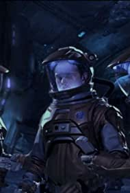 Scott Bakula, Dominic Keating, and Connor Trinneer in Enterprise (2001)