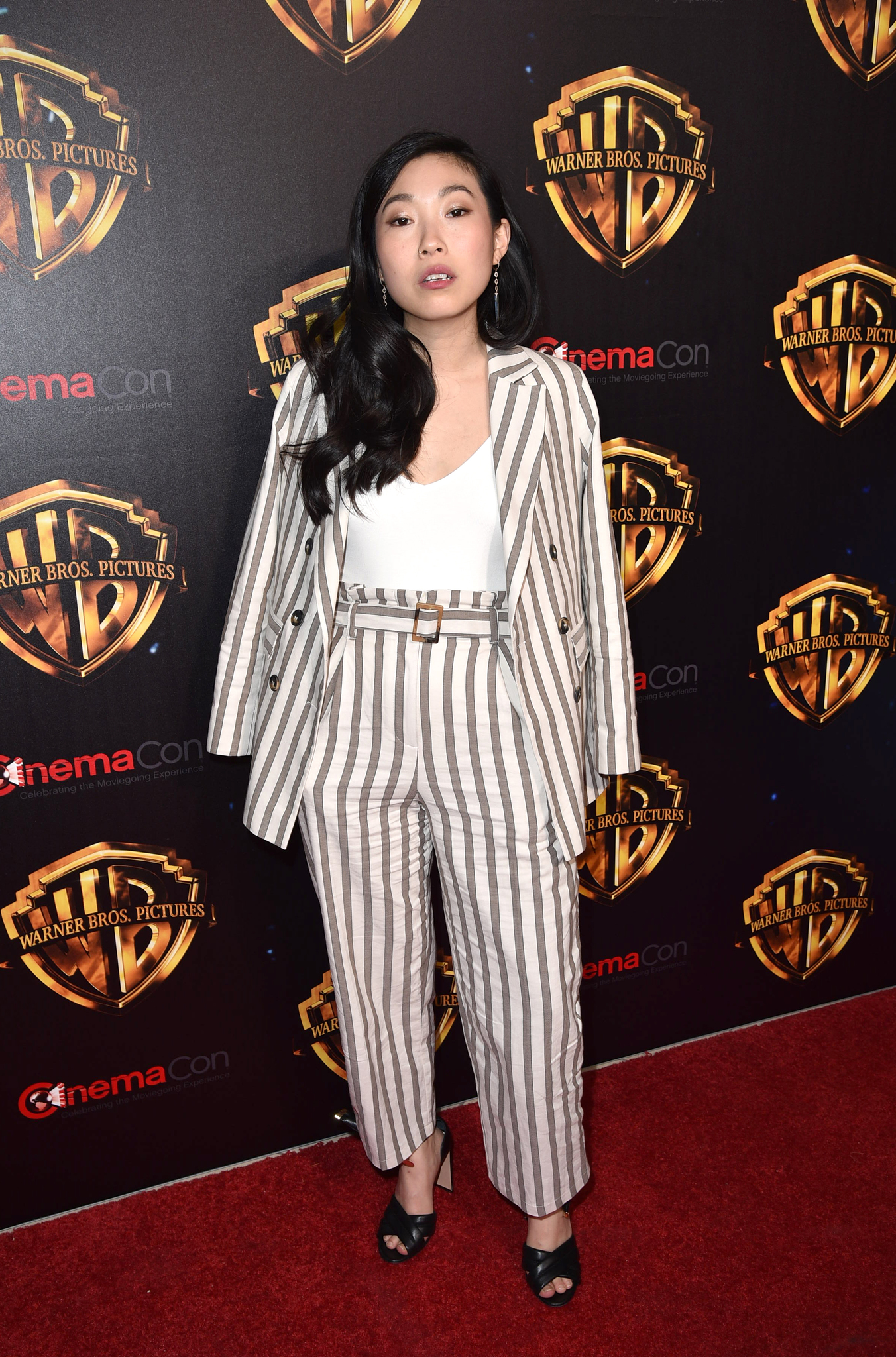 Awkwafina at an event for Crazy Rich Asians (2018)