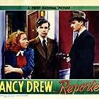 Bonita Granville, Frankie Thomas, and Larry Williams in Nancy Drew... Reporter (1939)