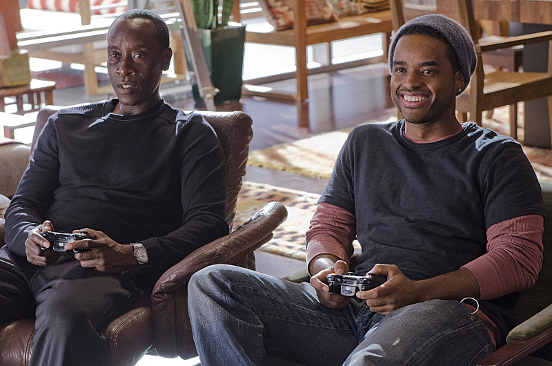 Don Cheadle and Larenz Tate in Wonders of the World (2013)