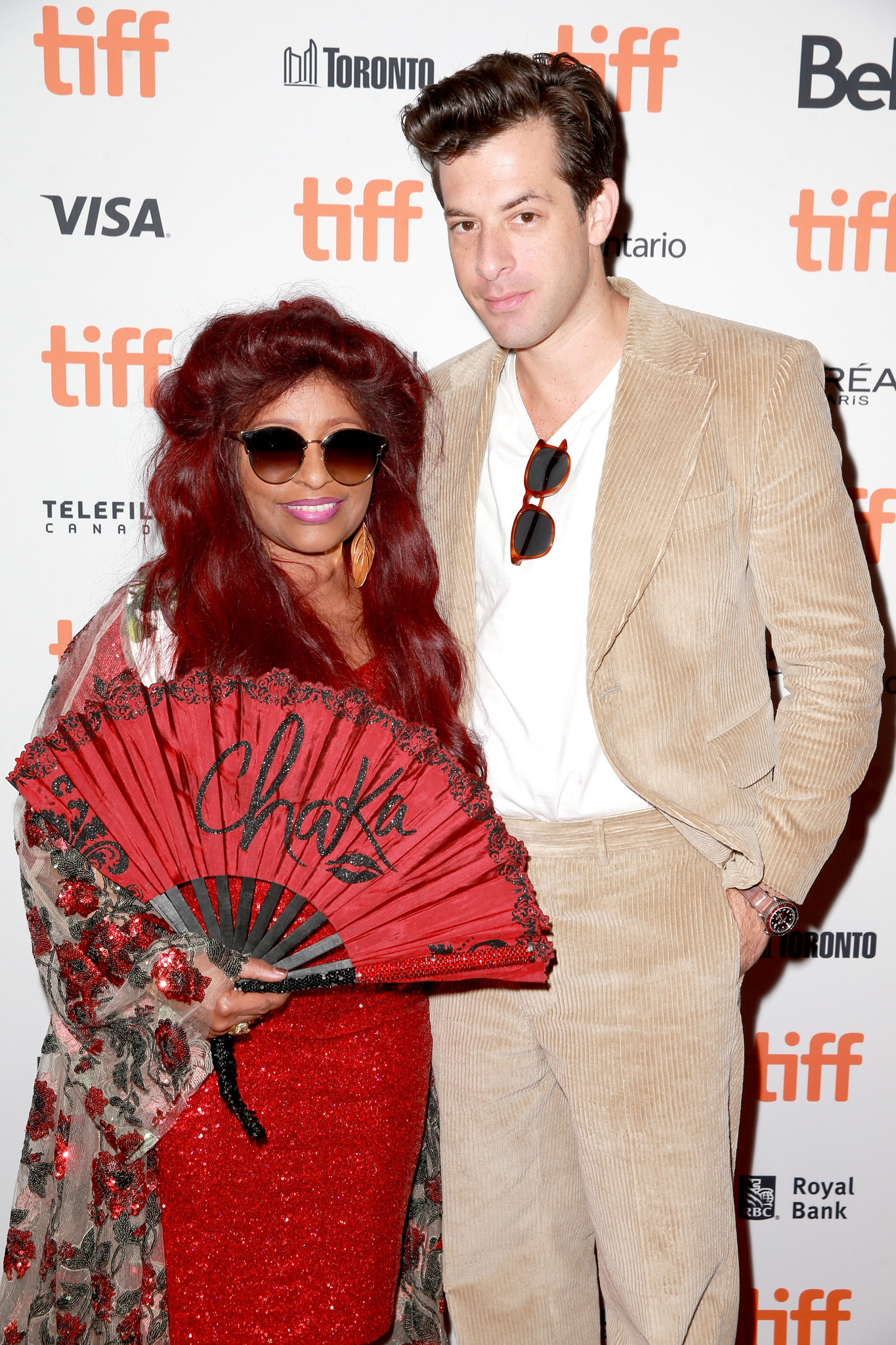 Chaka Khan and Mark Ronson at an event for Quincy (2018)