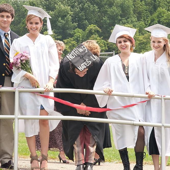 Logan Lerman, Emma Watson, Mae Whitman, Ezra Miller, and Erin Wilhelmi in The Perks of Being a Wallflower (2012)