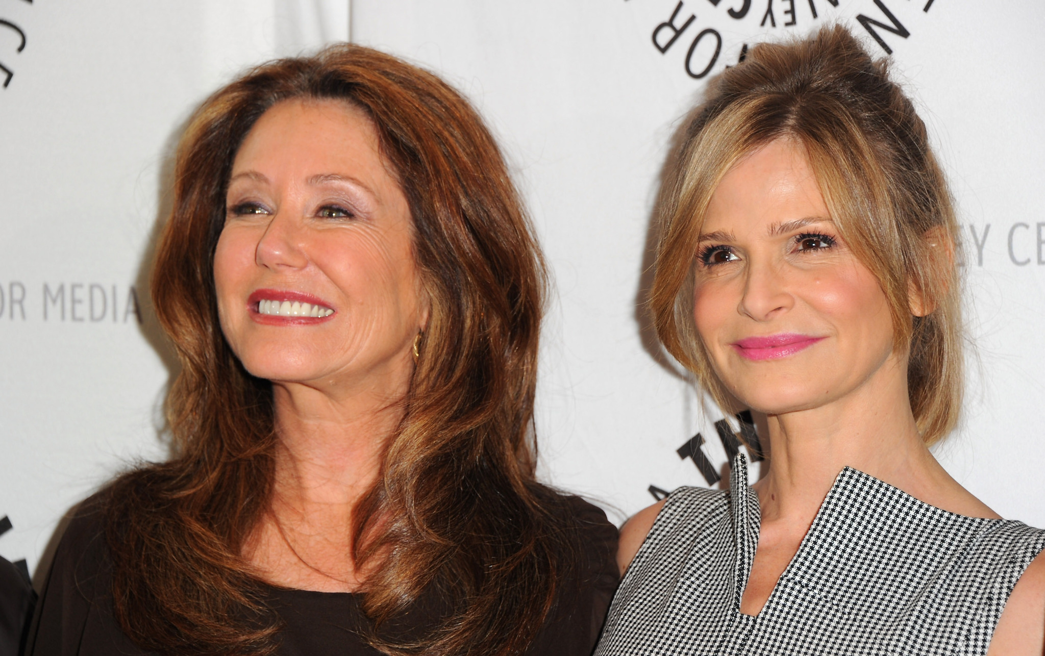 Mary McDonnell and Kyra Sedgwick at an event for The Closer (2005)
