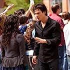 Kat Graham and Ian Somerhalder in The Vampire Diaries (2009)
