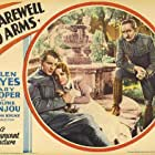 Gary Cooper, Helen Hayes, and Adolphe Menjou in A Farewell to Arms (1932)