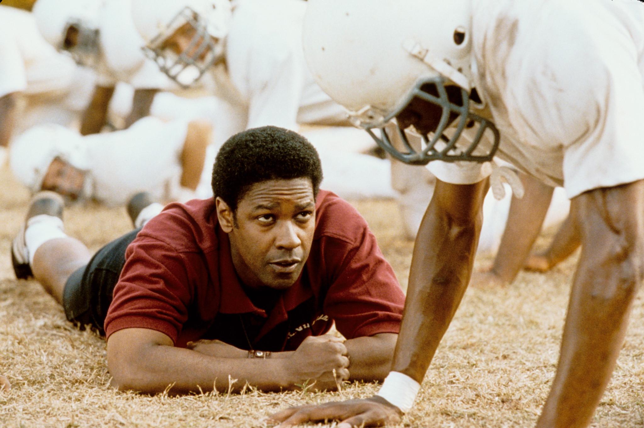 Denzel Washington in Remember the Titans (2000)
