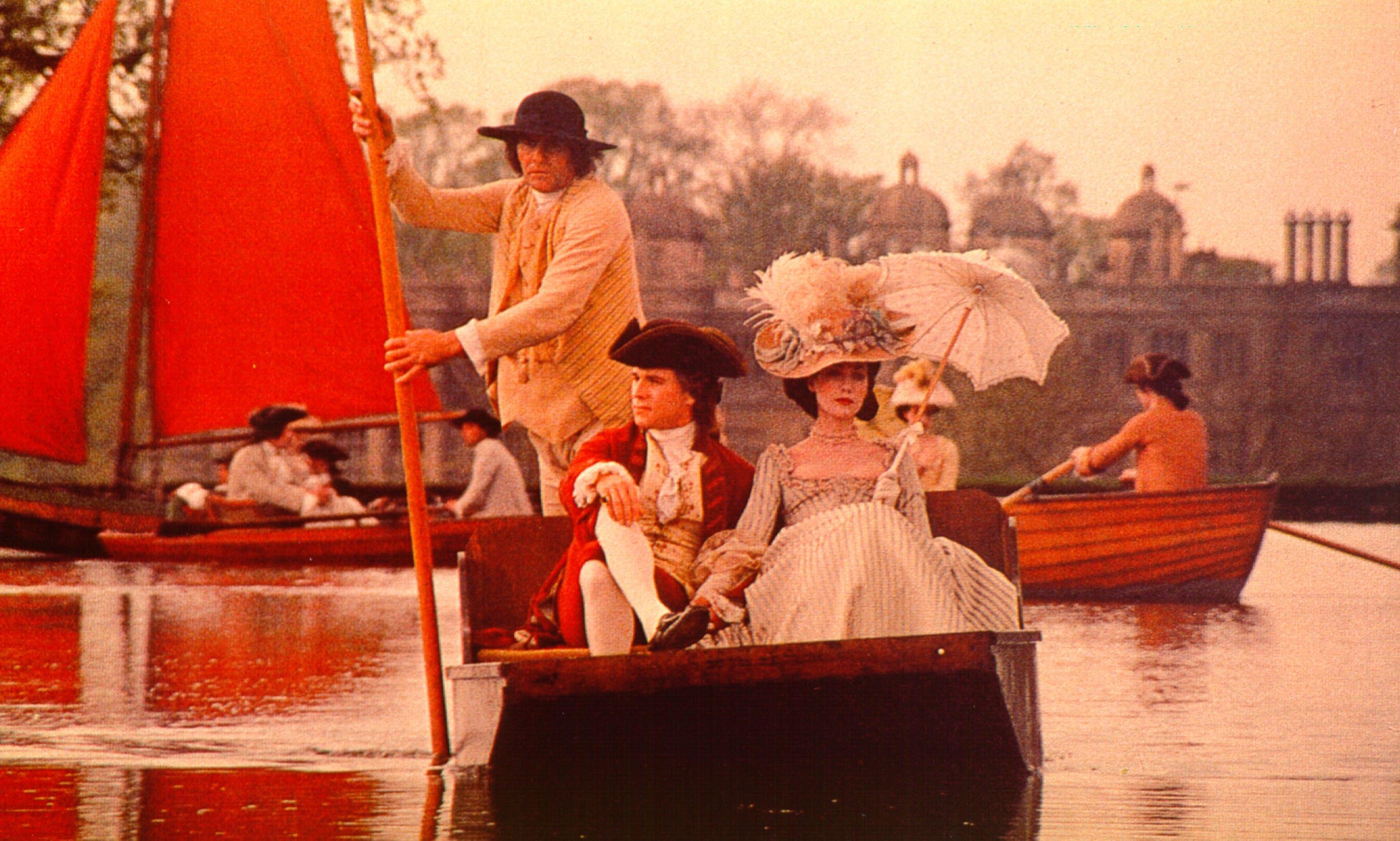 Marisa Berenson and Ryan O'Neal in Barry Lyndon (1975)