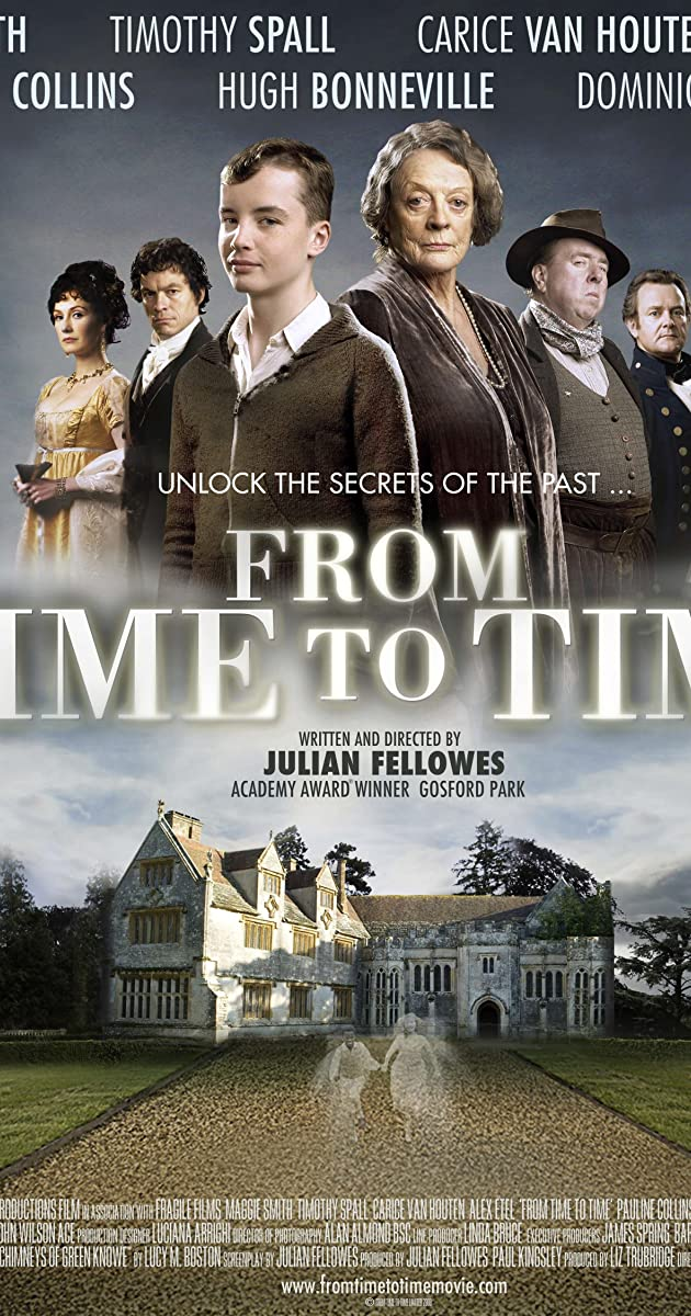 From Time To Time 2009 Imdb