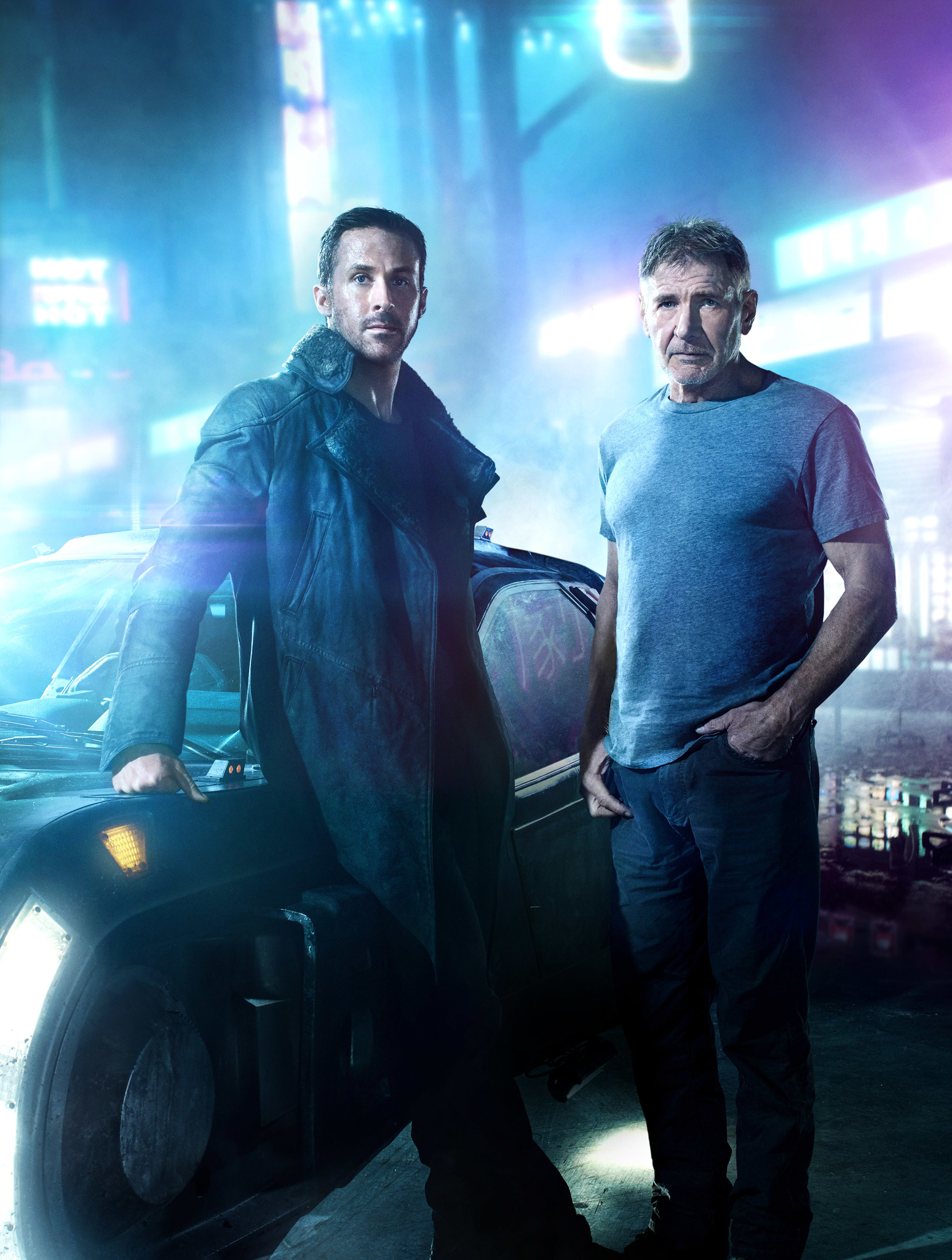 Harrison Ford and Ryan Gosling in Blade Runner 2049 (2017)