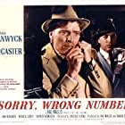 Burt Lancaster and John Bromfield in Sorry, Wrong Number (1948)