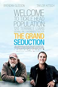 Brendan Gleeson and Taylor Kitsch in The Grand Seduction (2013)