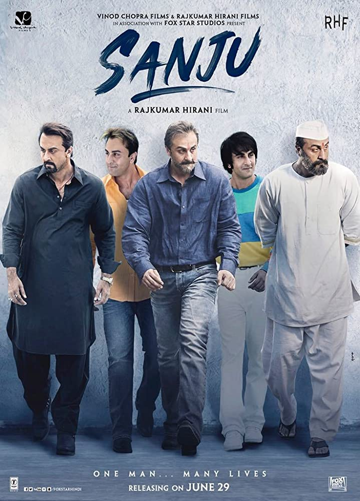Sanju 2018 Hindi Full Movie 550MB BluRay ESub Download