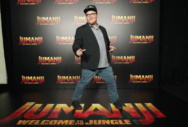 Jack Black at an event for Jumanji: Welcome to the Jungle (2017)