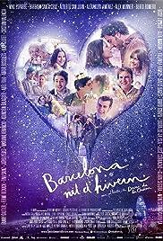 Barcelona Christmas Night Poster