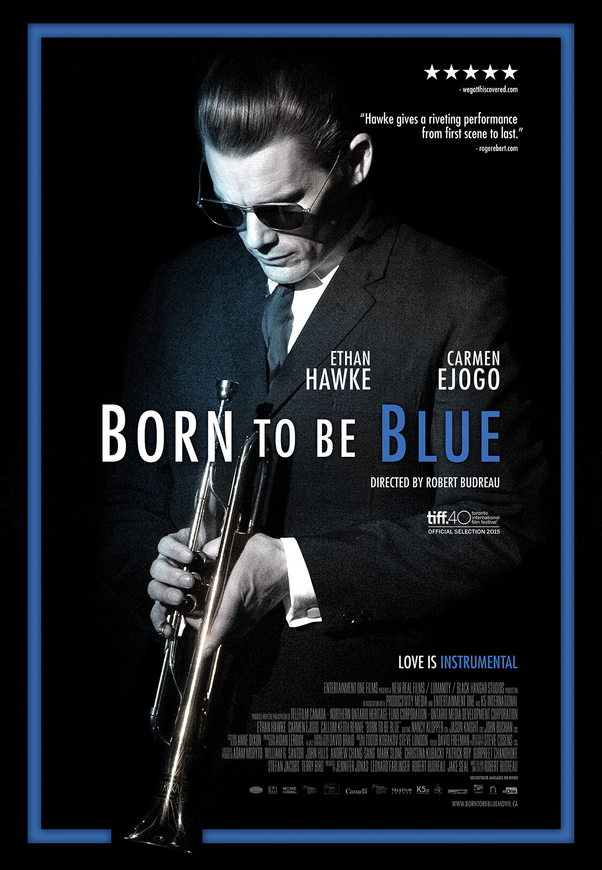 GIMĘS LIŪDĖTI (2015) / Born to Be Blue