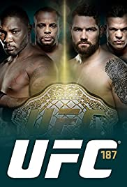 UFC 187: Johnson vs. Cormier Poster