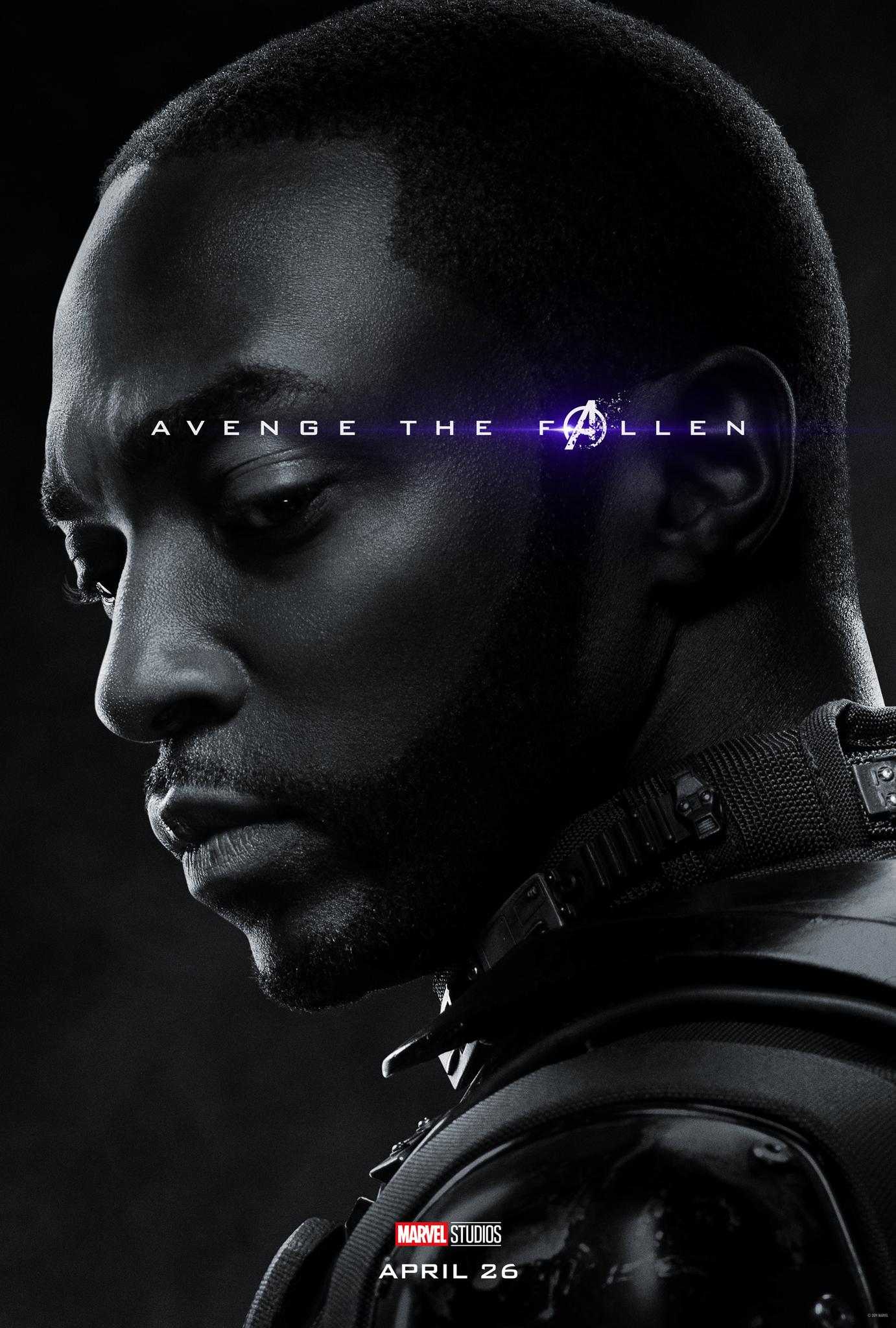 Anthony Mackie in Avengers: Endgame (2019)