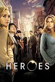 Sendhil Ramamurthy, Milo Ventimiglia, Noah Gray-Cabey, and James Kyson in Heroes (2006)