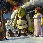 Cameron Diaz, Mike Myers, and Eddie Murphy in Shrek the Halls (2007)