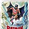 Adam West, Burgess Meredith, and Lee Meriwether in Batman: The Movie (1966)