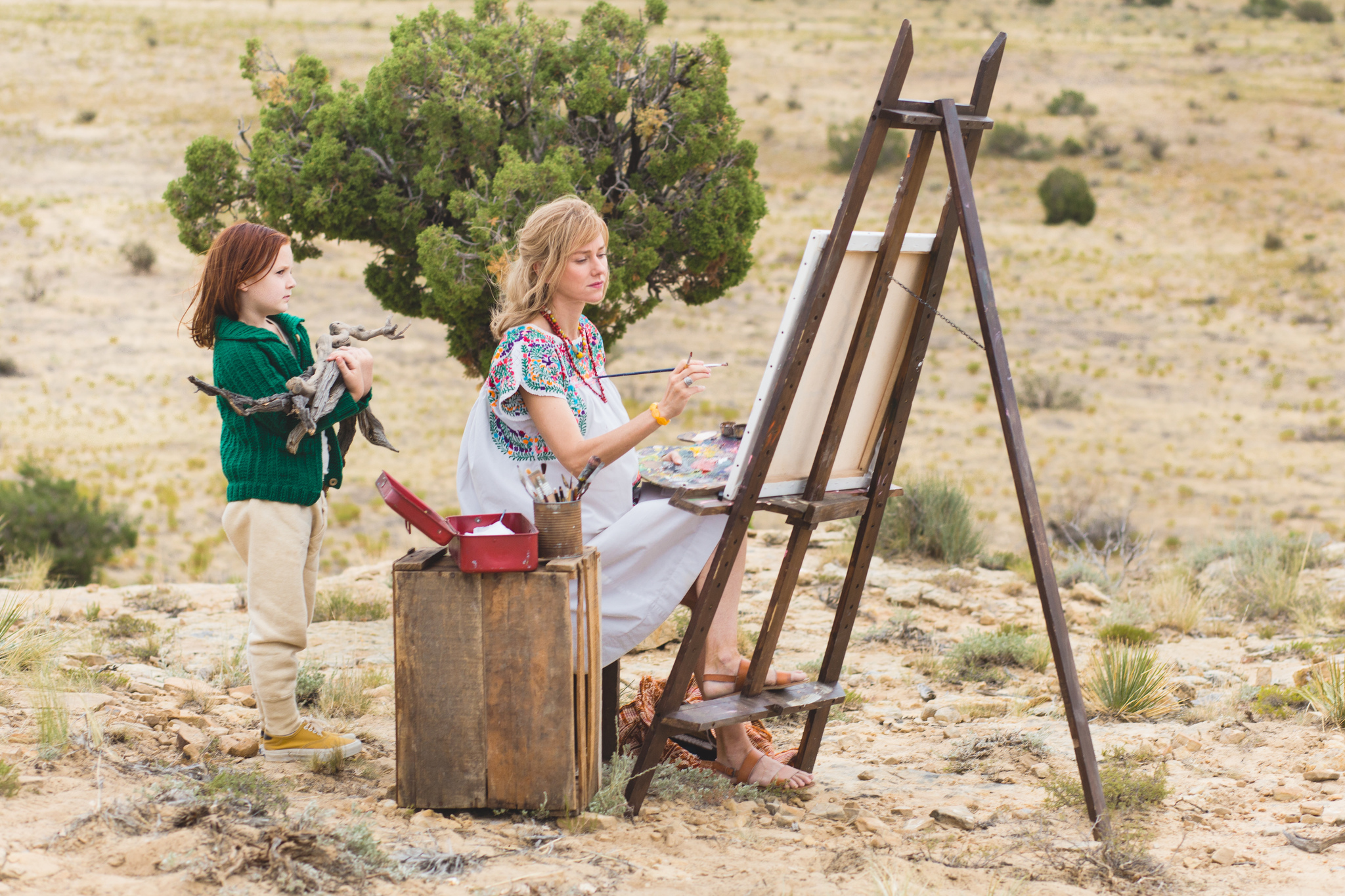 Naomi Watts and Chandler Head in The Glass Castle (2017)