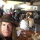 "Saloon scene being set up on the film ""Black Knuckle and Deputy Maltese""-Universal Studios."