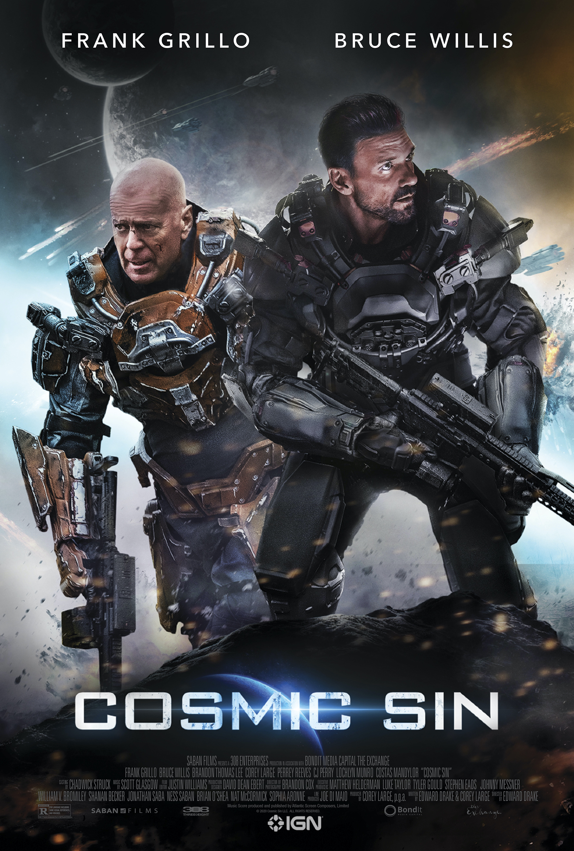Cosmic Sin (2021) WebRip 720p Dual Audio [Hindi (Voice Over) Dubbed + English] [Full Movie]