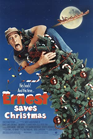 Ernest Saves Christmas Poster Image