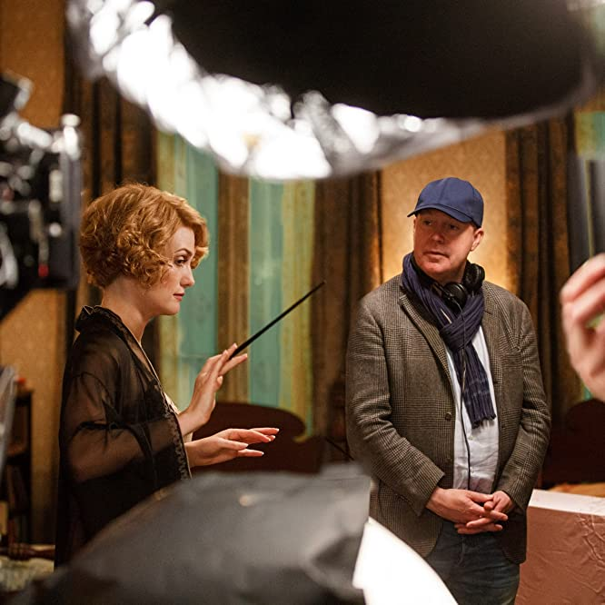 Alison Sudol and David Yates in Fantastic Beasts and Where to Find Them (2016)