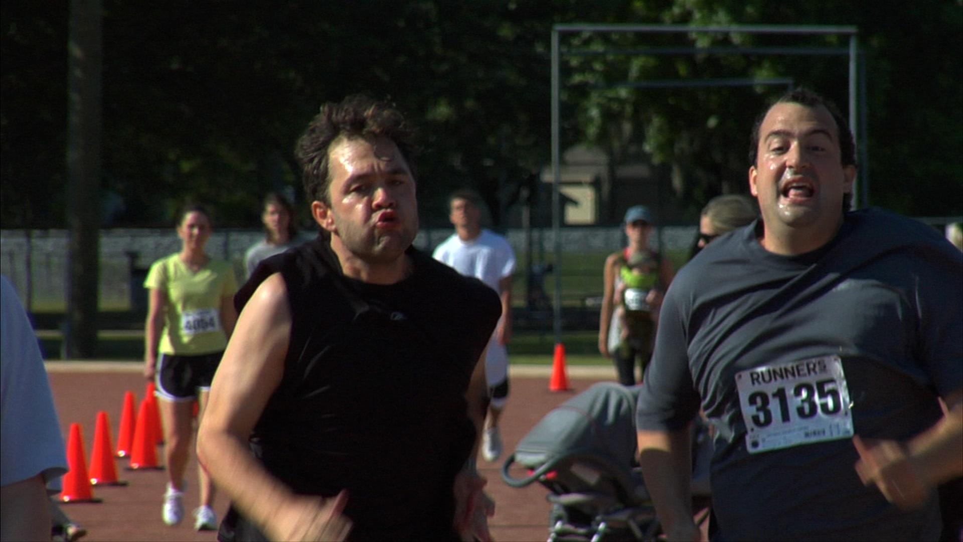 Mark Kelly and Steve Zissis in The Do-Deca-Pentathlon (2012)