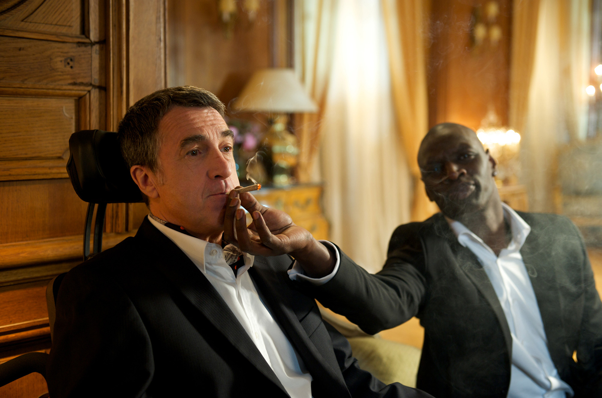 François Cluzet and Omar Sy in Intouchables (2011)