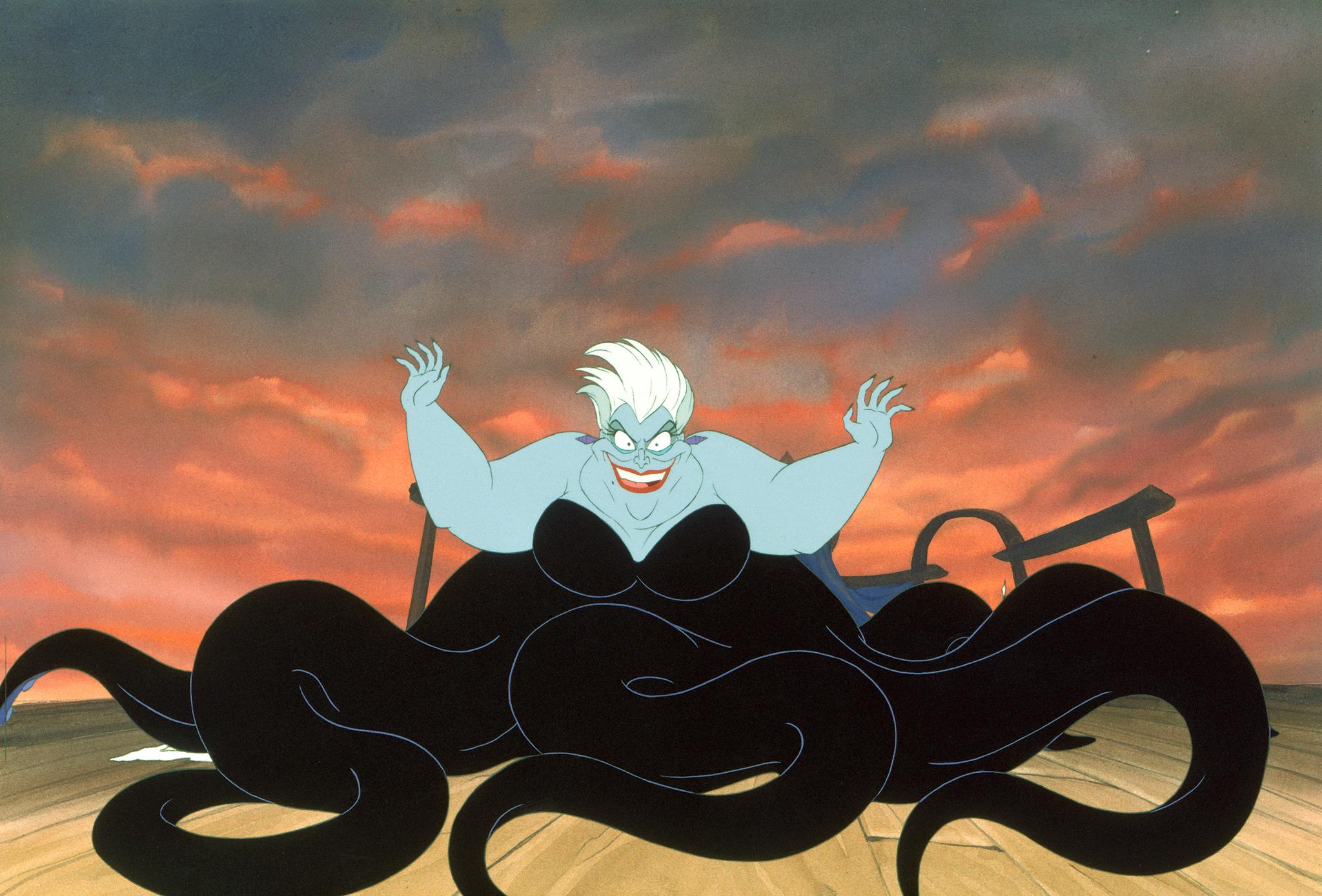 Pat Carroll in The Little Mermaid (1989)