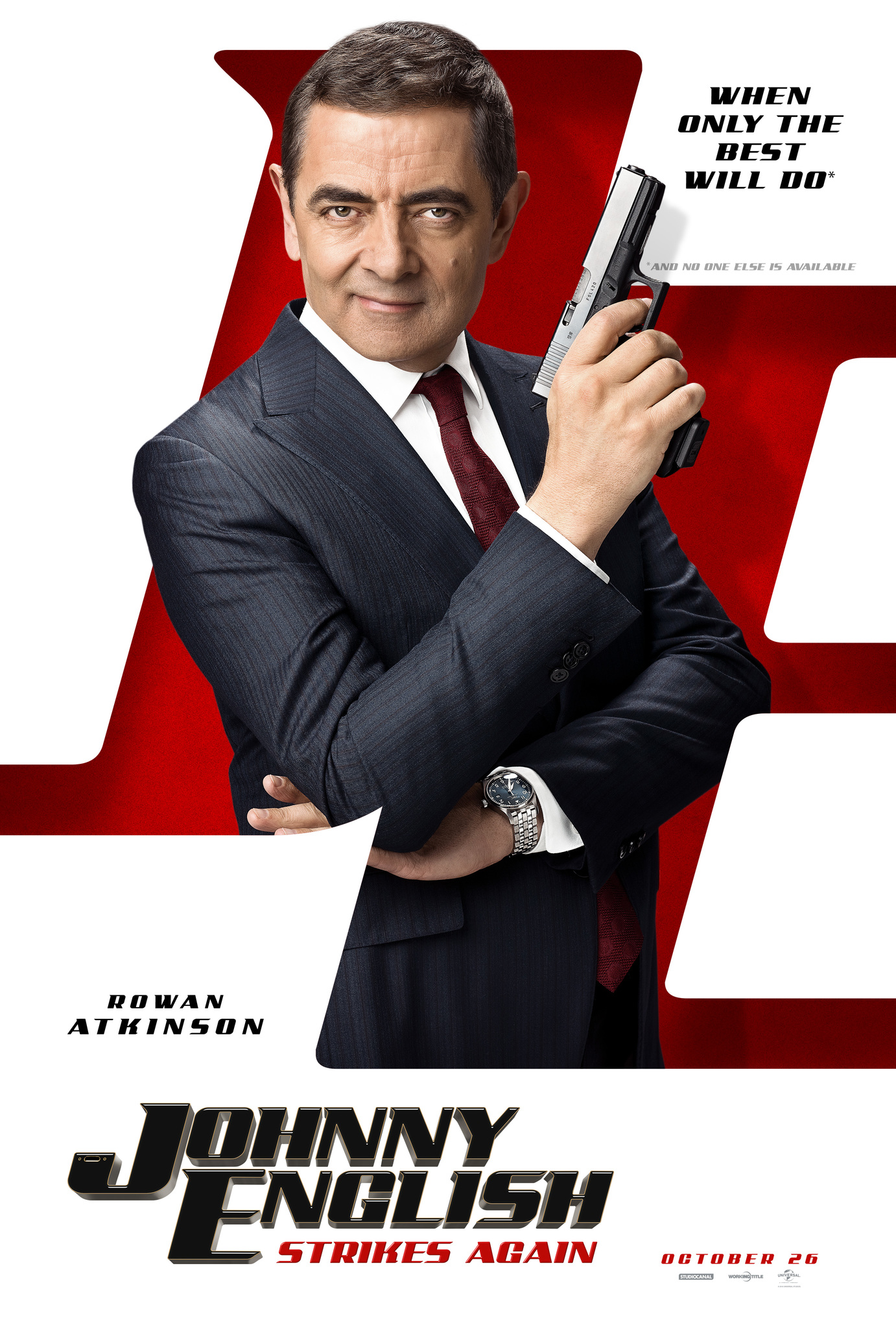Kuvahaun tulos haulle johnny english strikes again film poster