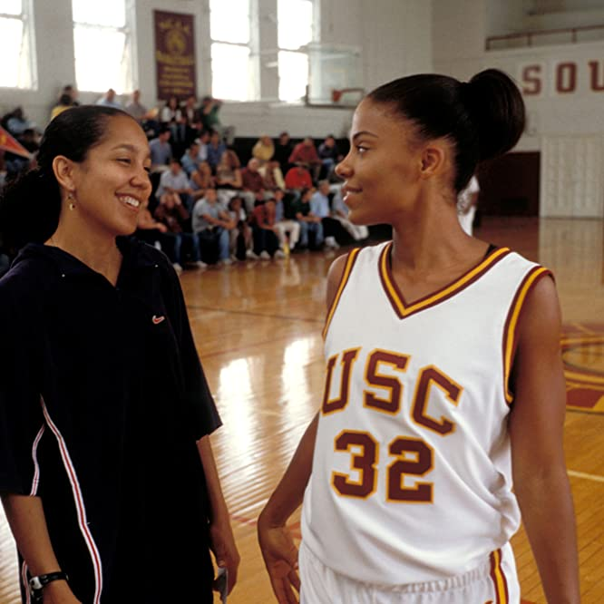 Sanaa Lathan and Gina Prince-Bythewood in Love & Basketball (2000)