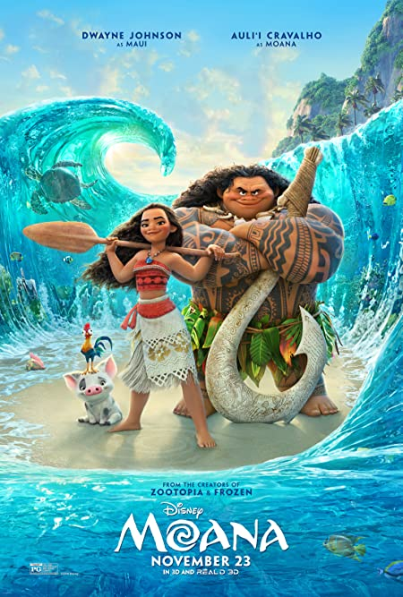 [PG] Moana (2016) Dual Audio Blu-Ray - 480P | 720P - x264 - 300MB | 1GB - Download & Watch Online  Movie Poster - mlsbd