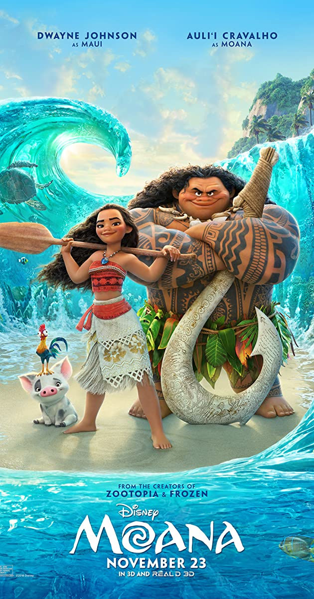 Watch Full HD Movie Moana (2016)