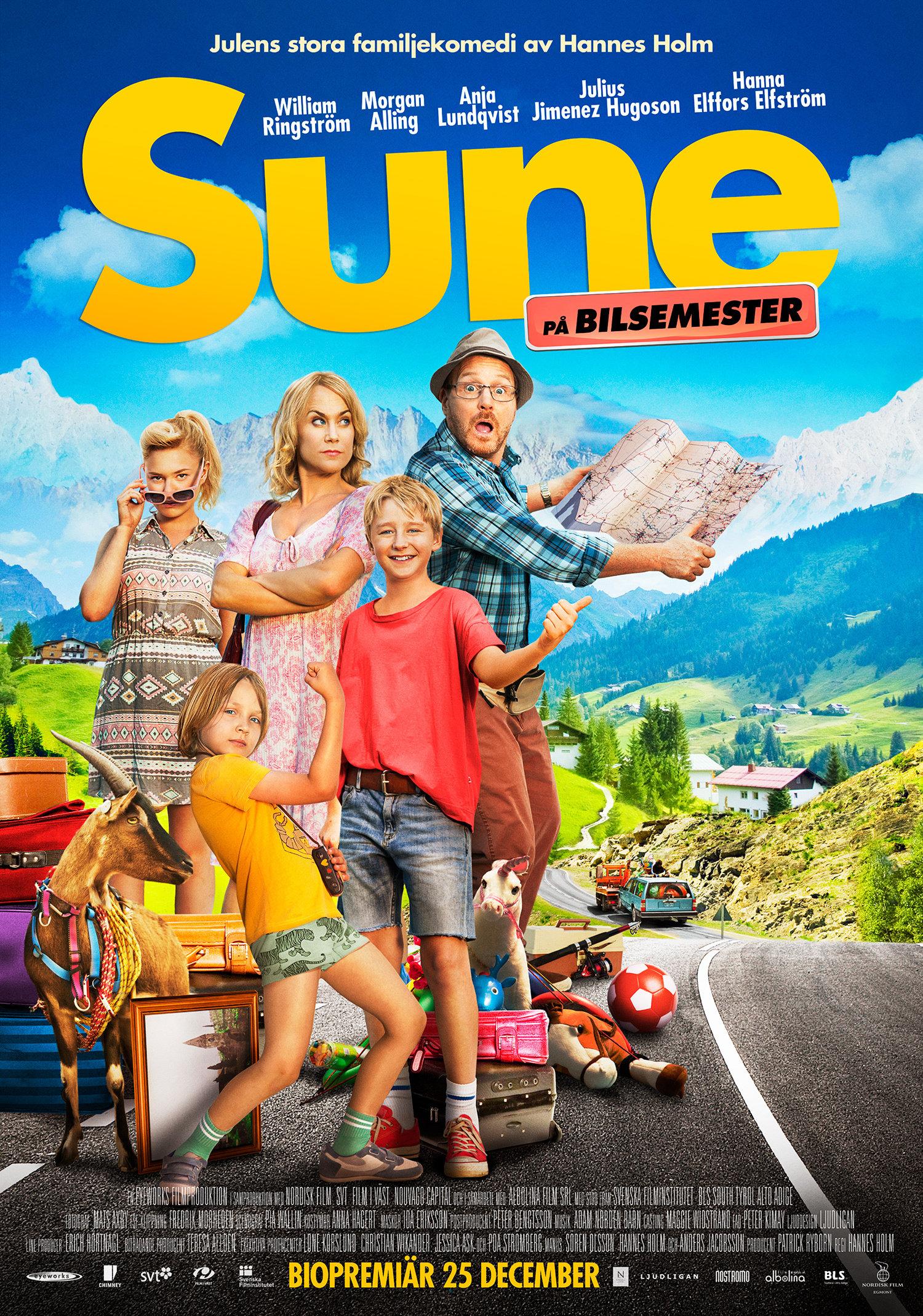Sune på bilsemester (2013)