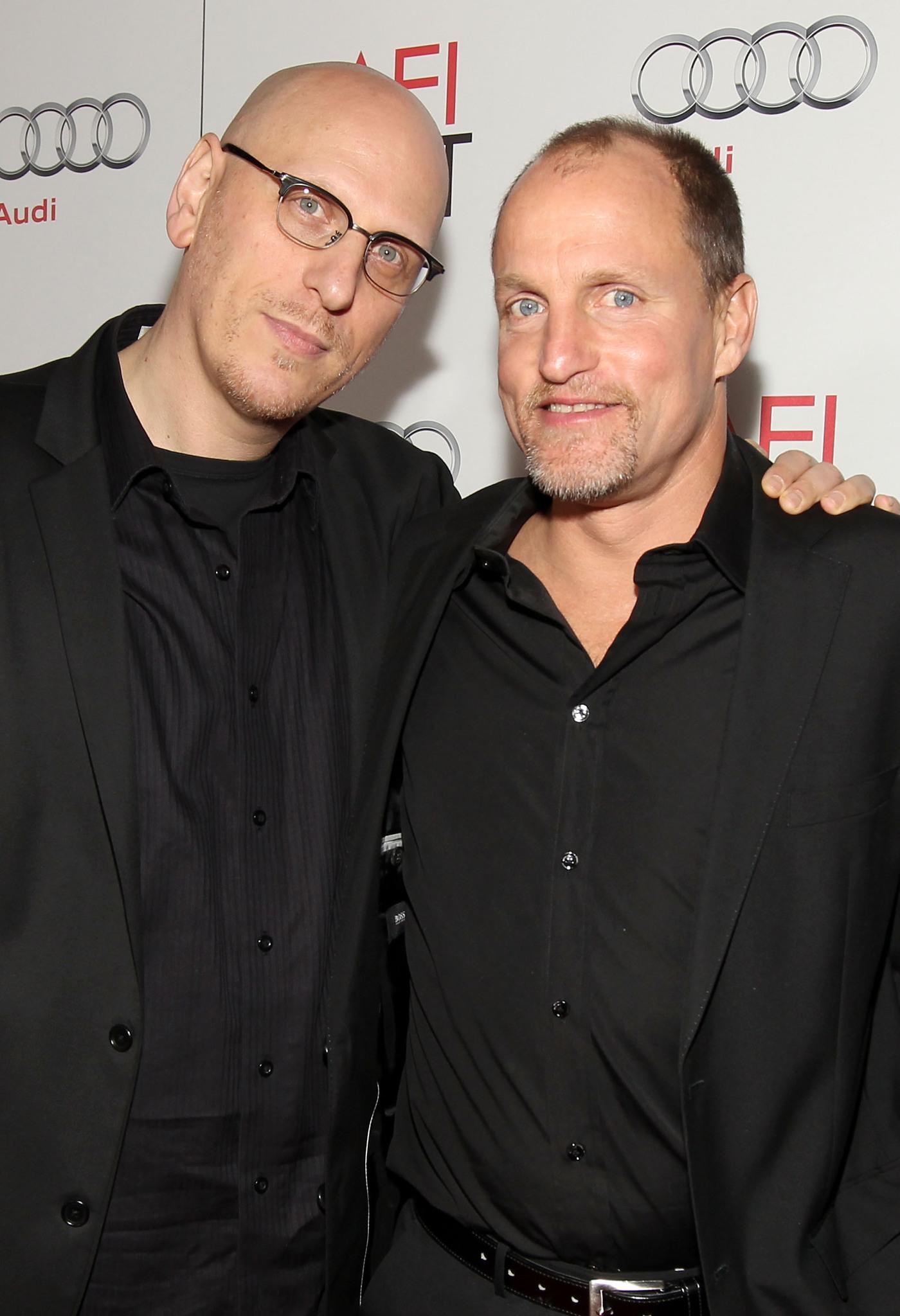 Woody Harrelson and Oren Moverman