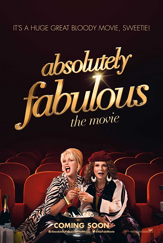 Absolutely Fabulous: The Movie (2016) Hindi Dubbed