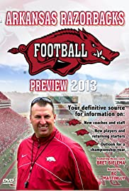 Arkansas Razorbacks Football Poster