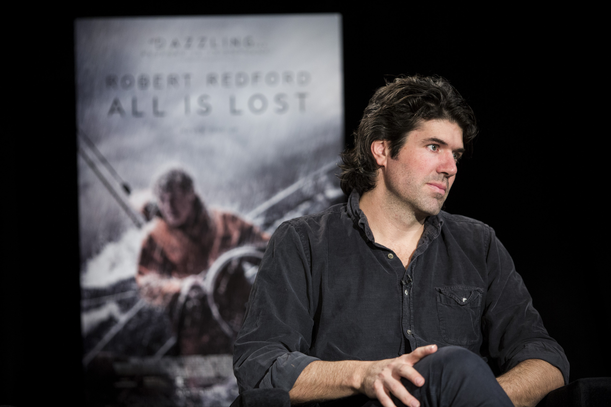 J.C. Chandor at an event for All Is Lost (2013)