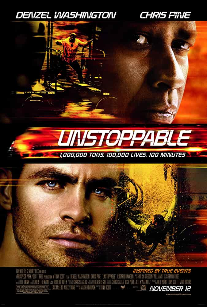 Download Unstoppable (2010) {Hindi-English} 480p [300MB] || 720p [850MB]