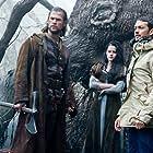 Kristen Stewart, Chris Hemsworth, and Rupert Sanders in Snow White and the Huntsman (2012)