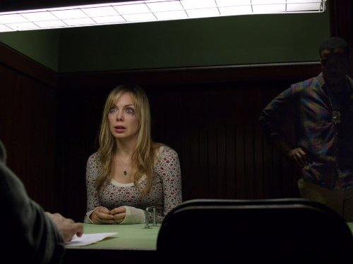 Russell Hornsby and Amanda Walsh in Grimm (2011)