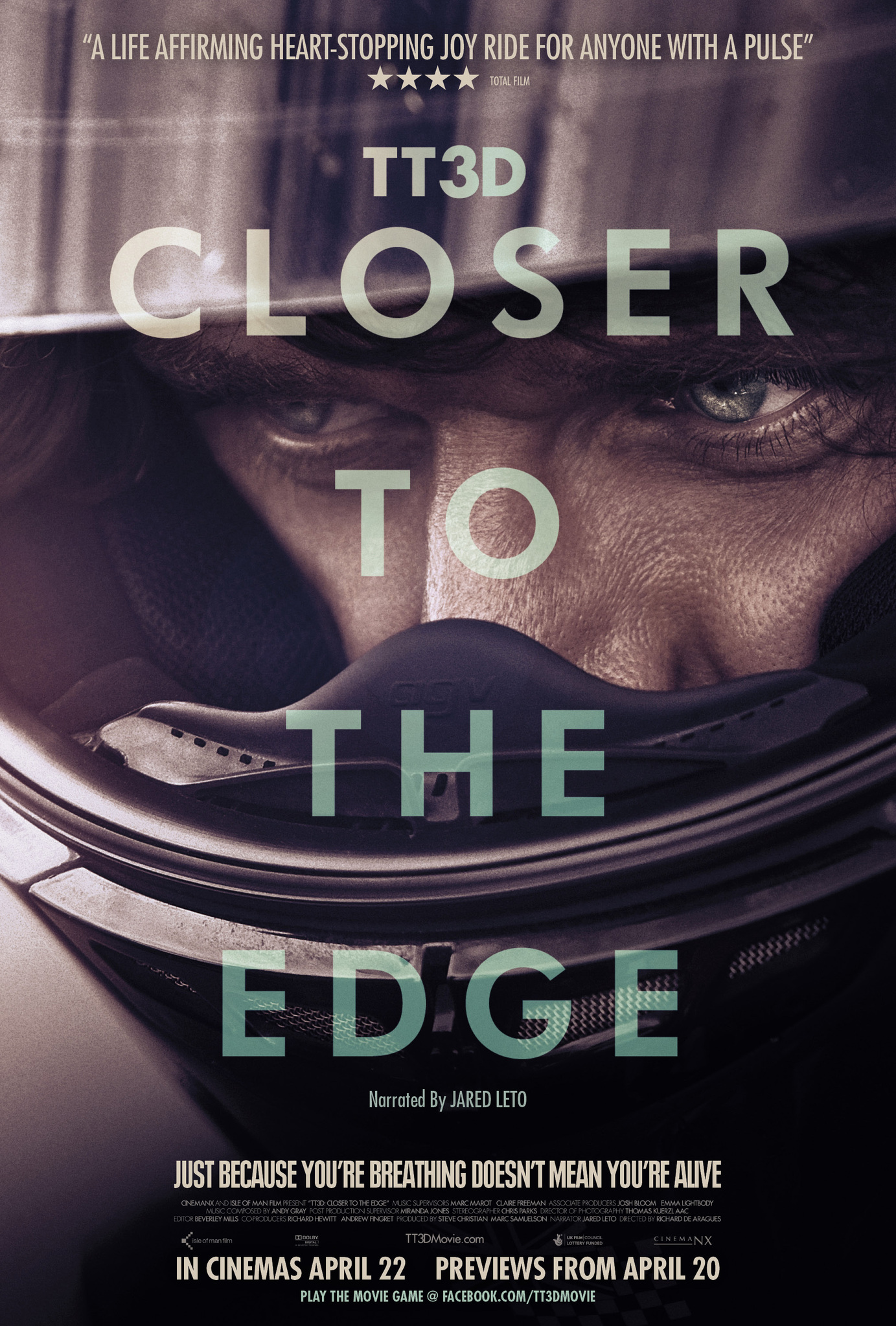 tt3d closer to the edge trailer